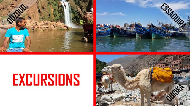 Les excursions de Marrakech en vidéo photos slideshow